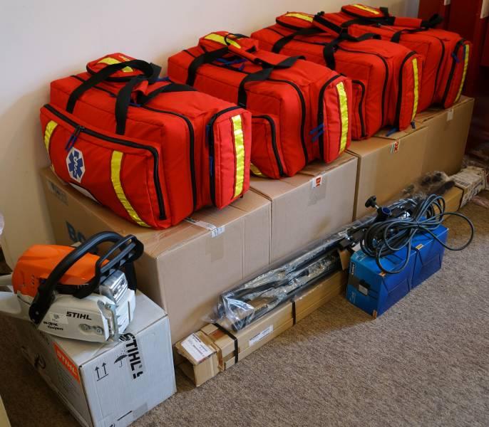 Specjalistyczny sprzęt dla strażaków na Sądecczyźnie