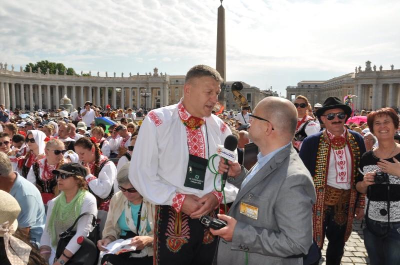 Podegrodzie na mszy kanonizacyjnej w Rzymie