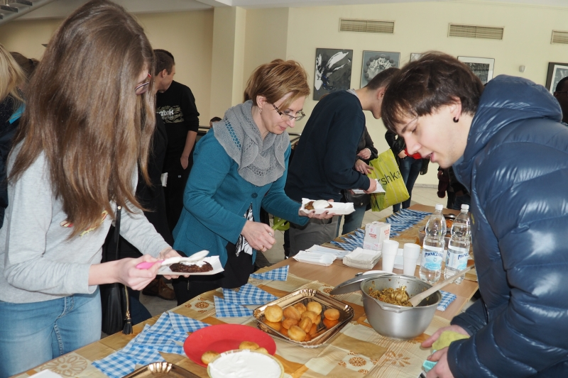 międzynarodowy kulinarny dzień w WSB - NLU nowy sącz