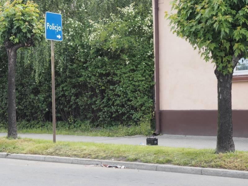 Dominowa stłuczka aut na ul. Kunegundy w Nowym Sączu