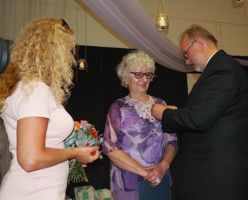 Barbara Paluchowa odznaczona Złotym Jabłkiem Sądeckim