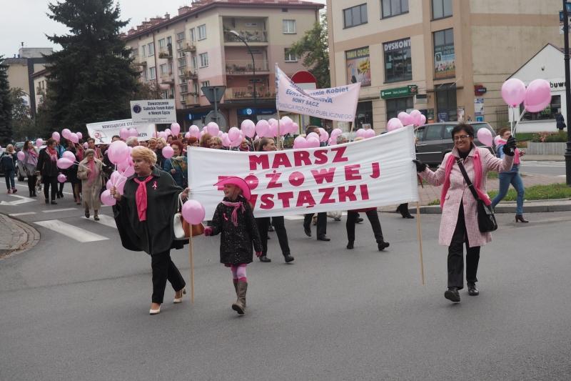 Marsz Różowej Wstążki, fot. Iga Michalec