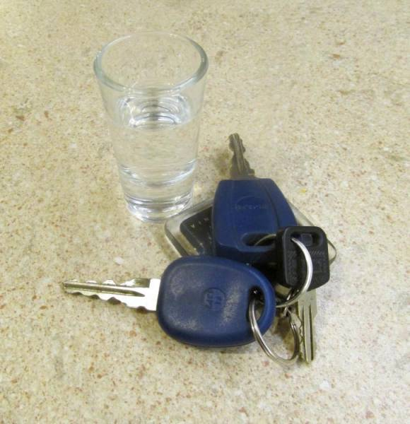Pijany kierowca opla w Młyńczyskach