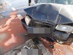 Mystków zderzenie samochodów