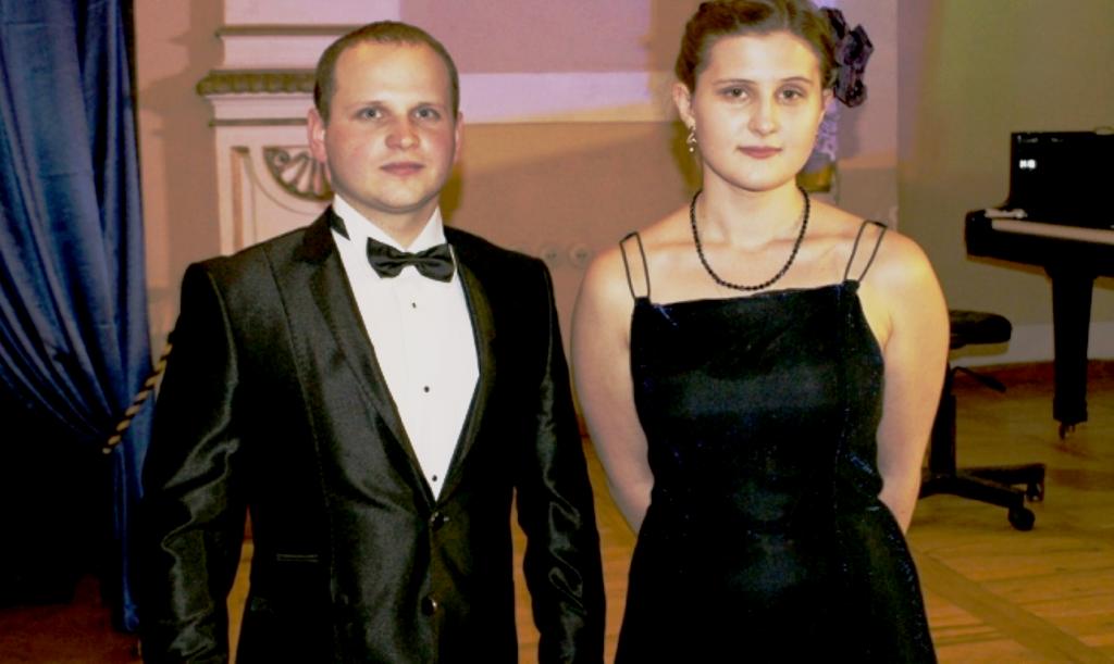 Paulina Rogóż z Sebastianem Iżwickim (tenor)