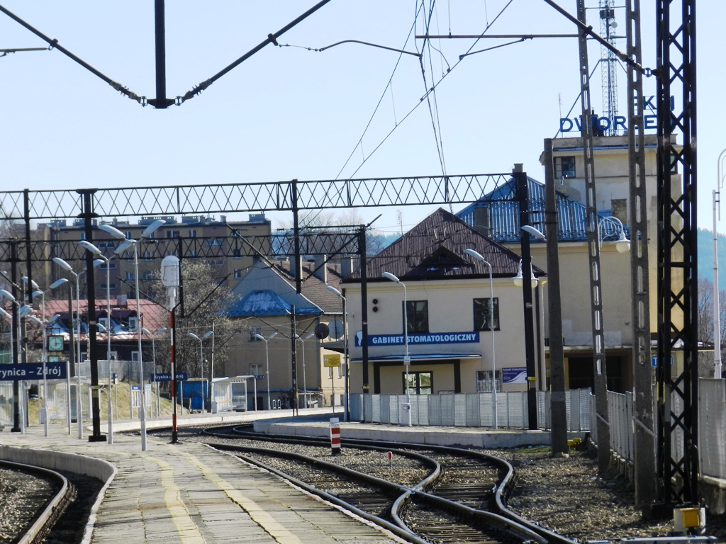 Dworzec kolejowy w Krynicy-Zdroju ożyje? Miasto czeka na wycenę obiektu.