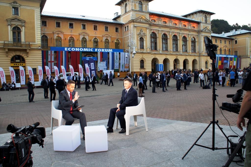 W Krynicy wyrasta już specjalne miasteczko XXIX  Forum Ekonomicznego