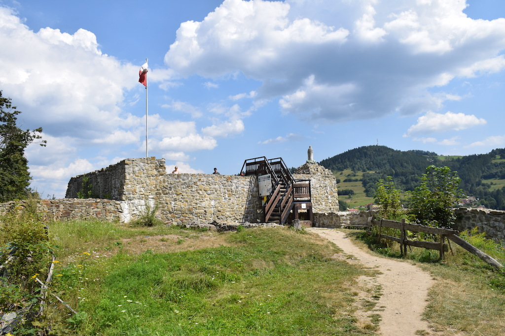 Średniowieczny zamek w Muszynie skrywa jeszcze wiele tajemnic