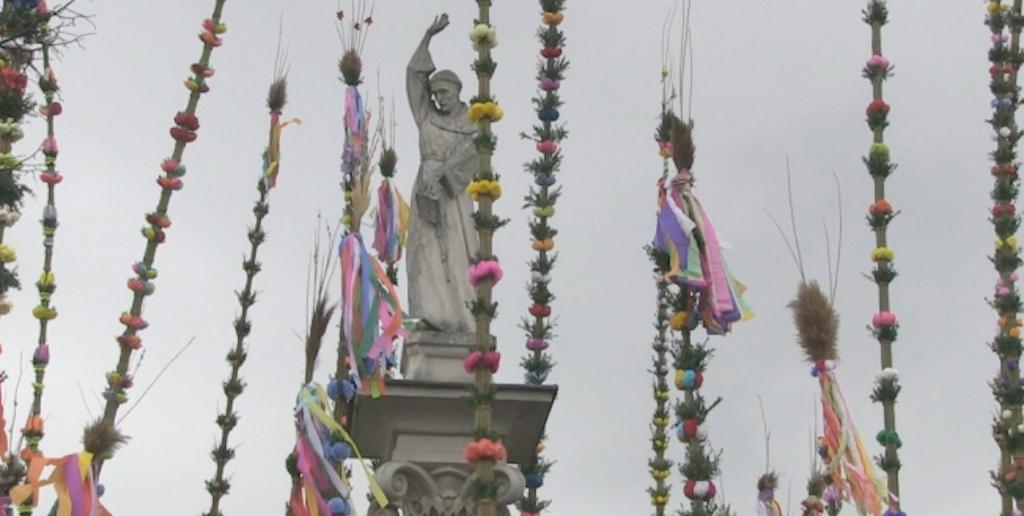 Konkurs palm wielkanocnych w Lipnicy Murowanej bez publiczności i jarmarku