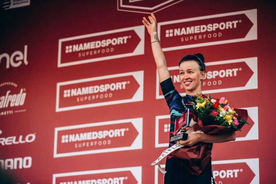 Katarzyna Niewiadoma trzecia w Strade Bianche we Włoszech