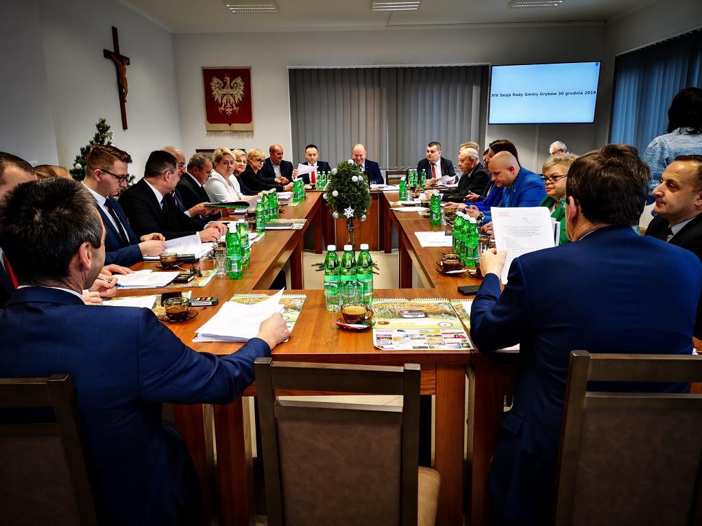 XIV Sesja Rady Gminy Grybów