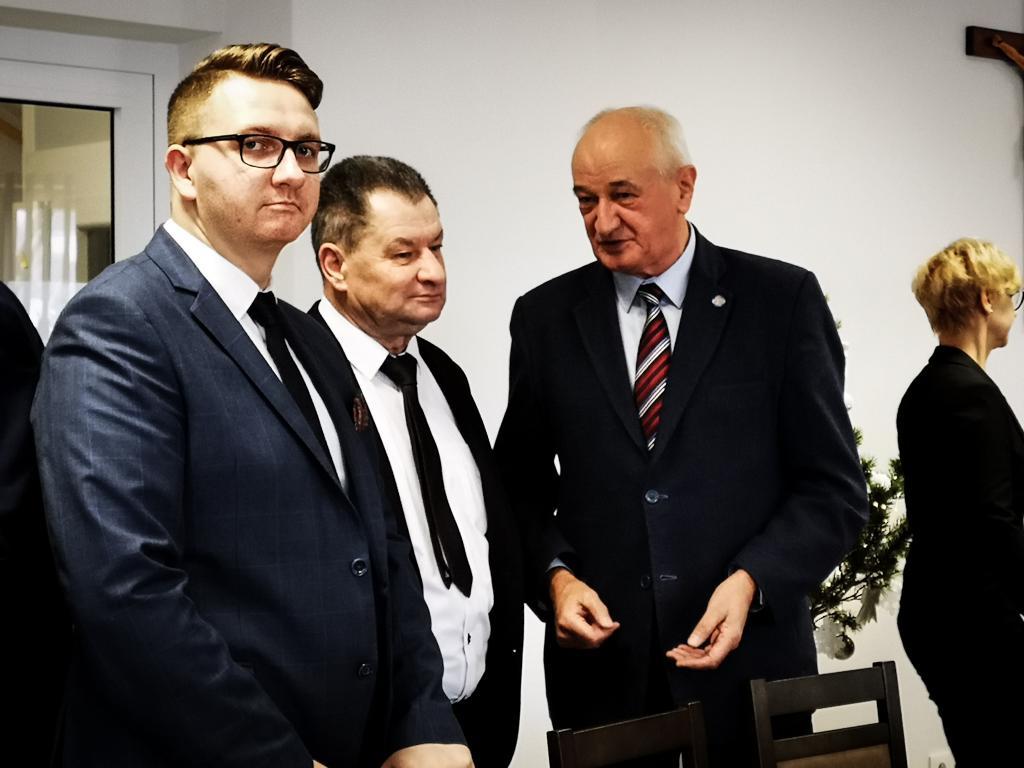 Od lewej:Adrian Czochór i Krzysztof Oleksy