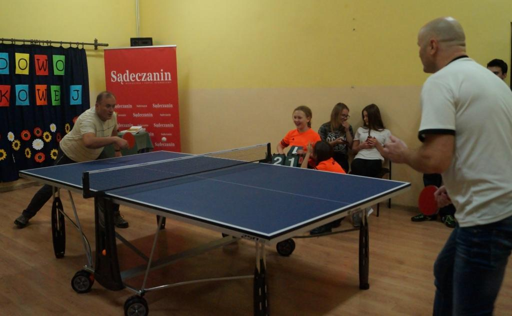 W Niskowej wszyscy kochają tenisa stołowego