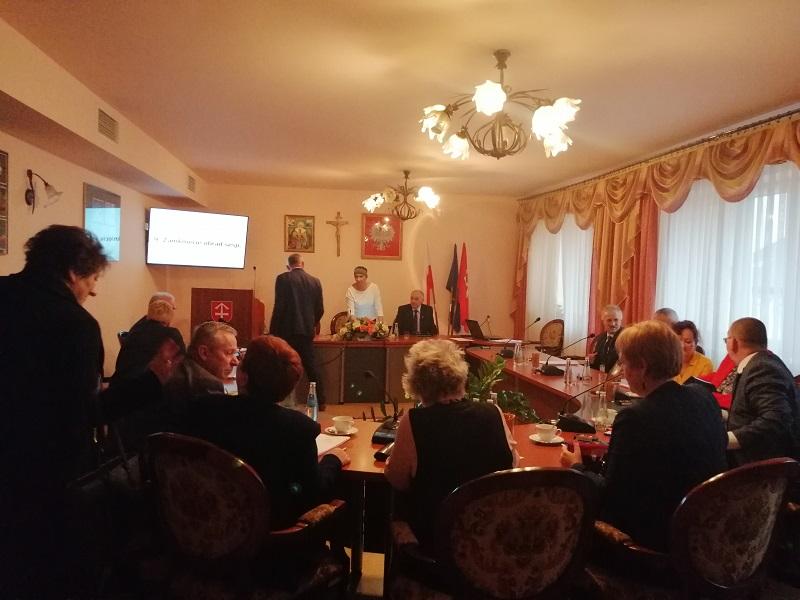 Radni z gminy Bobowa rozmawiali na XIV sesji