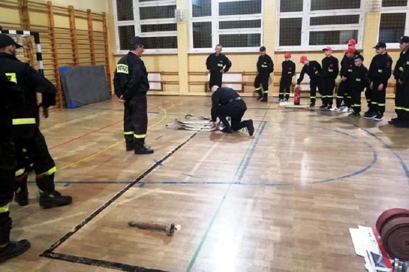 Zawody strażaków w Łużnej