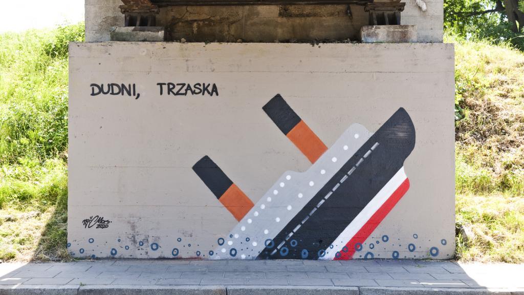 Nowy mural na Węgierskiej autorstwa Magistra Morsa