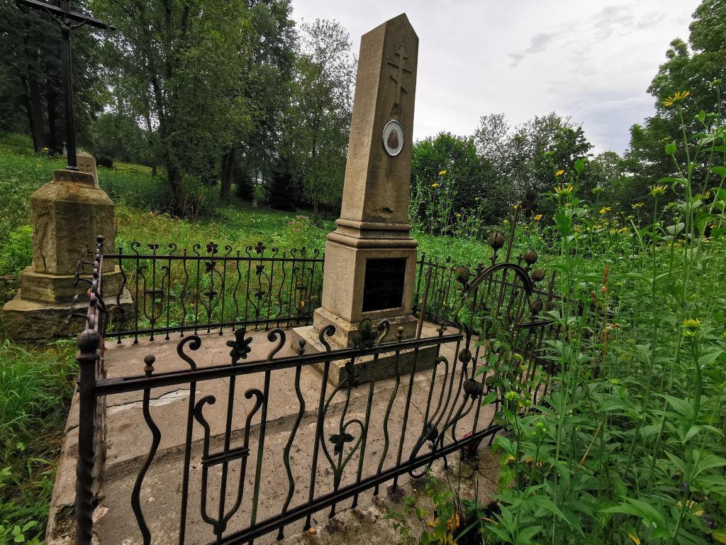 Cmentarz łemkowski w Łabowej, fot. OSP Łabowa
