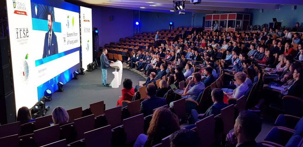 XIV Forum Ekonomiczne Młodych Liderów, fot. Sądeczanin