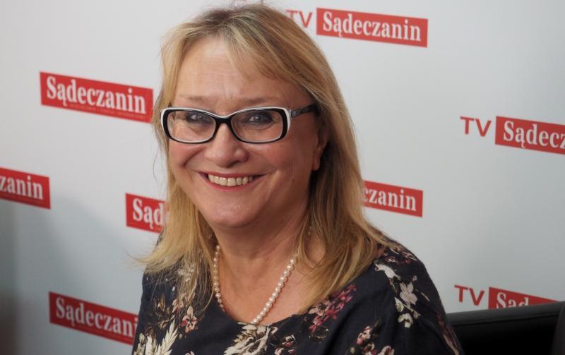 Małgorzata Małuch, wójt gminy Sękowa, fot. archiwum Sądeczanina