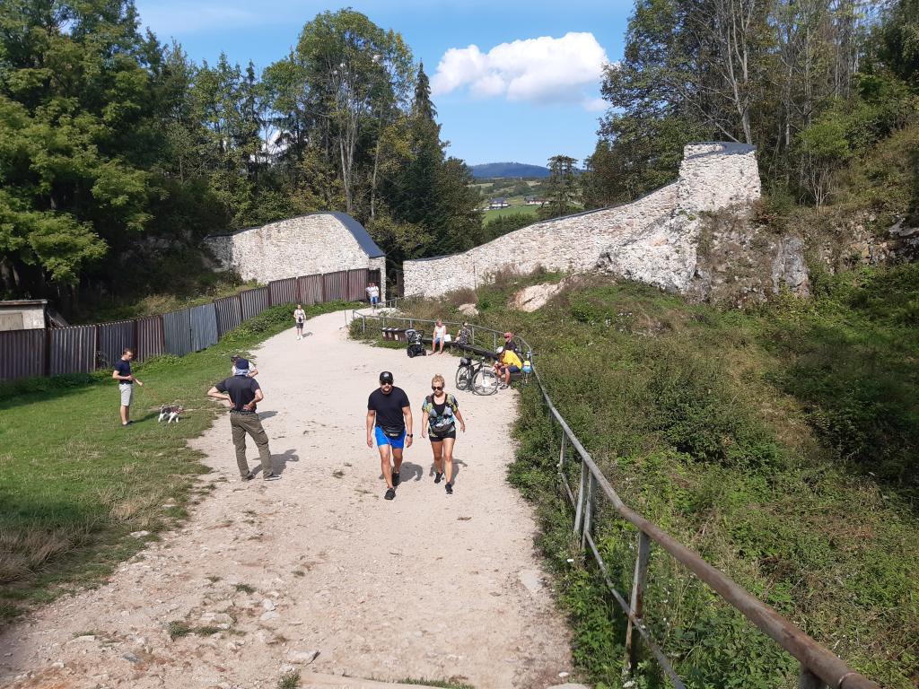 Zamek w Czorsztynie, fot. Sądeczanin