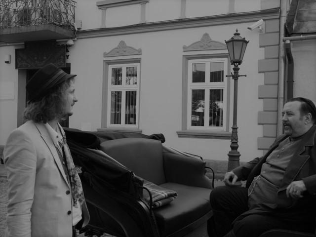 Dariusz Gnatowski w Nowym Sączu. Fot. Archiwum Sądeczanina