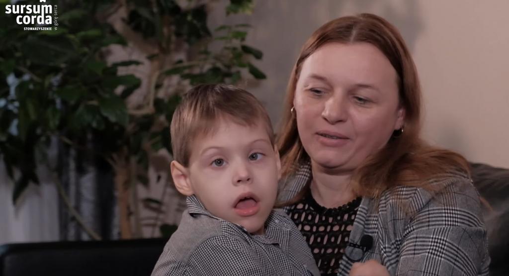 Dawid Cebula i mama, Surcum Corda