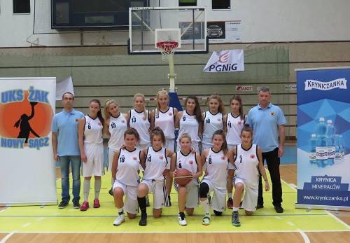 UKS Żak Nowy Sącz, koszykówka, wygrana, Sądeczanin.info
