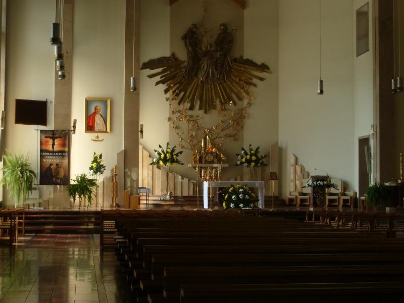 Ołtarz Główny Kościoła w Rytrze