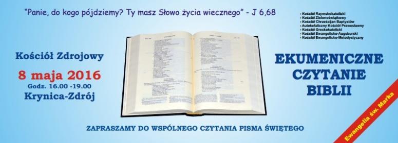 Ekumeniczne czytanie Pisma Świętego