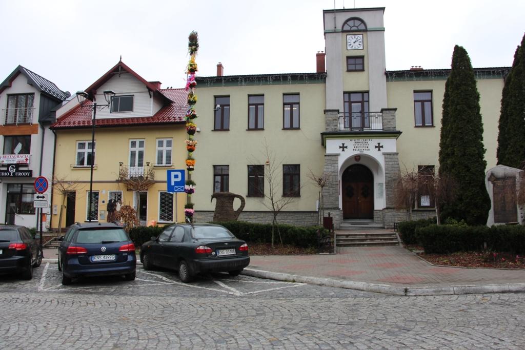 Wielkanocne dekoracje w mieście - Piwniczna-Zdrój