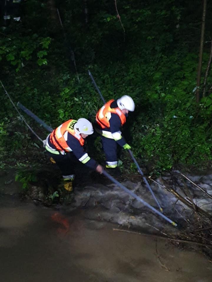 Co zrobiły deszcze i rzeki w gminie Stary Sącz