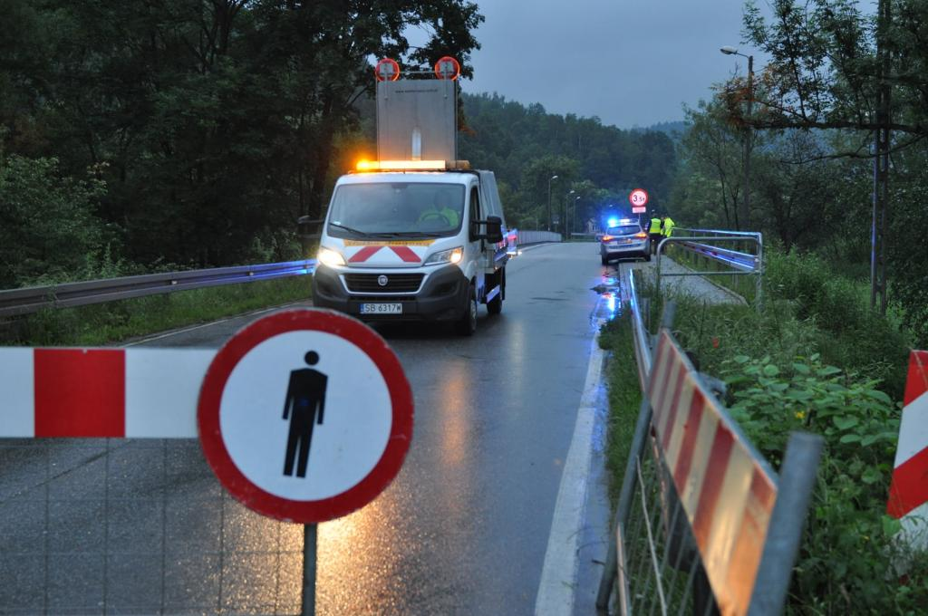 Uwaga! Most na Kamienicy już zamknięty! Nie przejdziesz, nie przejedziesz!