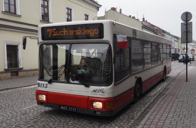 Autobusy MPK kursują objazdami. Tylko czy pasażerowie o tym wiedzą?