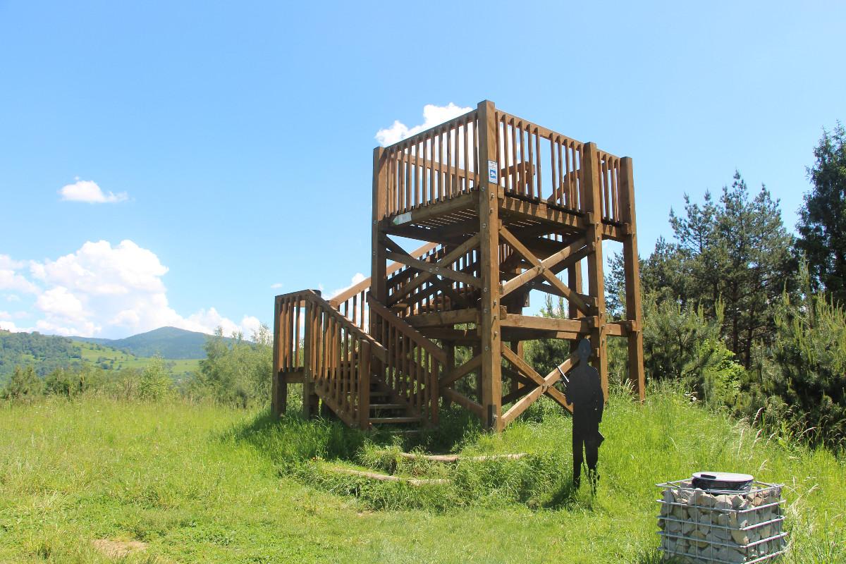 Aktywny Sądeczanin: Park Węgielnik, piękny finał dnia w Piwnicznej-Zdroju
