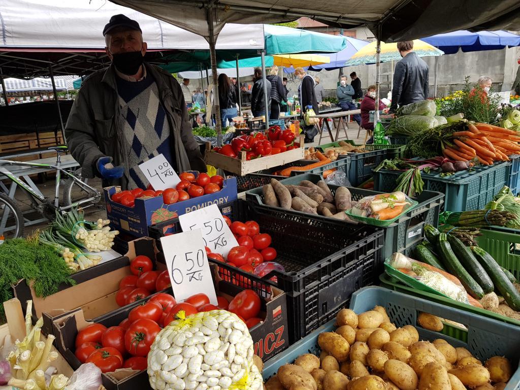 Nowy Sącz: czy na Rynku Maślanym można sprzedawać drób i jajka?
