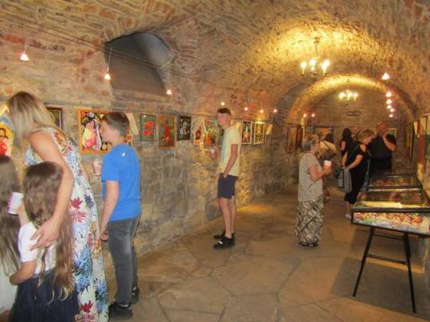 Wystawa Zofii Mirek, fot. SBP w Nowym Sączu