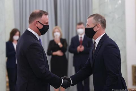 Wielkie zmiany w Kancelarii Prezydenta RP. Były wojewoda Piotr Ćwik awansował