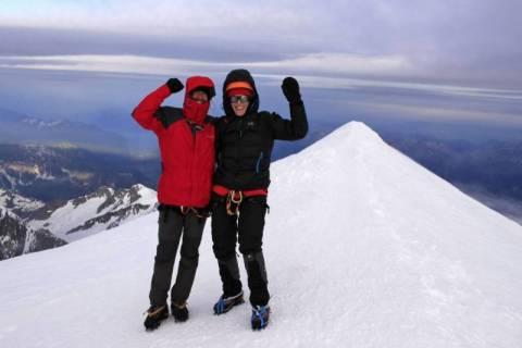 Sądeczanie na Mount Blanc