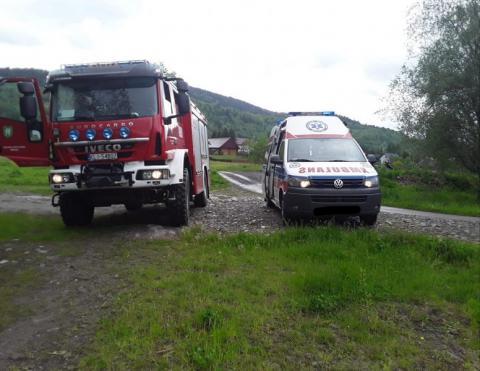 Nieszczęśliwy wypadek czy samobójstwo? Strażacy wyłowili z rzeki zwłoki 53-latka