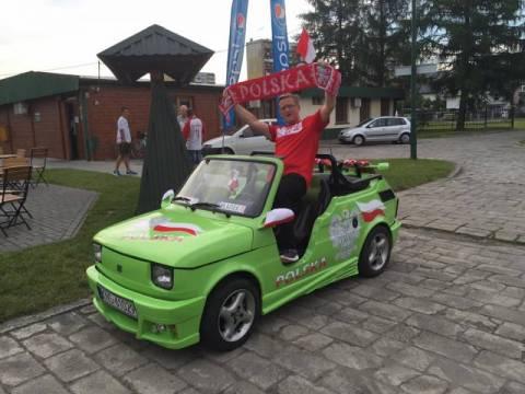 Nowy Sącz: Tak kibicuje Artur Czernecki! A jak Ty to robisz?