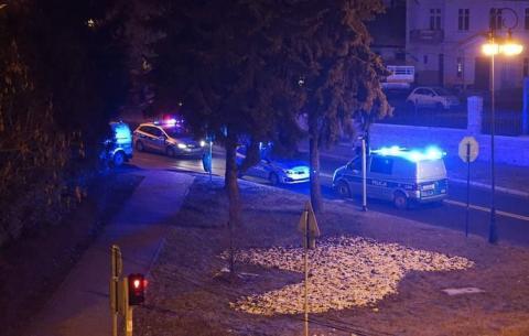 Co się wydarzyło na ul. Kościuszki? Zaroiło się od policjantów