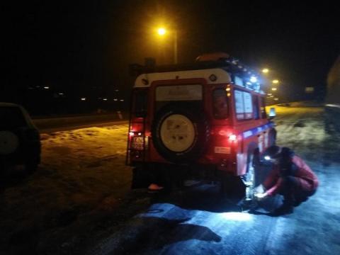 Turyści zgubili się w rejonie Radziejowej. Potrzebna była pomoc goprowców