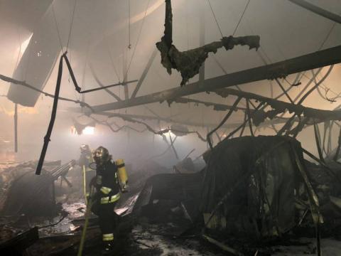 Wnętrze Media Expert spłonęło doszczętnie. Czy market zostanie odbudowany?