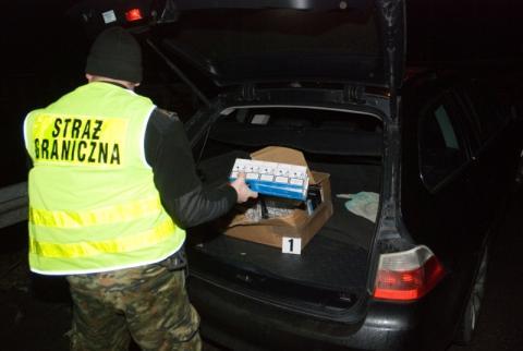 Pogranicznicy znaleźli nielegalne papierosy