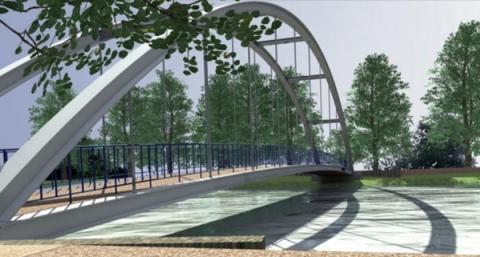 trasy rowerowe wzdłuż Popradu
