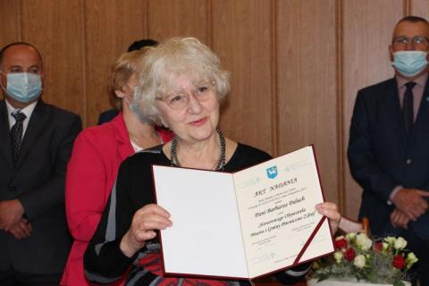 Barbara Paluch została Honorowym Obywatelem Piwnicznej-Zdroju [ZDJĘCIA]