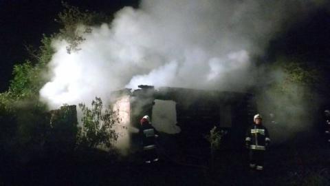 Pożar w Naszacowicach. Po budynku zostały jedynie zgliszcza