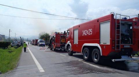Było niebezpiecznie. Strażacy ewakuowali 50 osób ze szkoły
