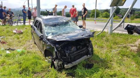 Dramatyczny wypadek w Starym Sączu. Samochody nadają się na złom