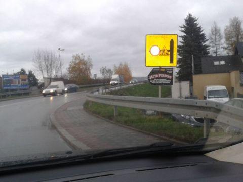 MZD dróg za oświetlenie i lampy przydrogowe odpowiedzialności nie ponosi